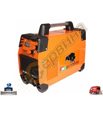 Инверторен заваръчен апарат-електрожен Bisonte MMA-200 BT100