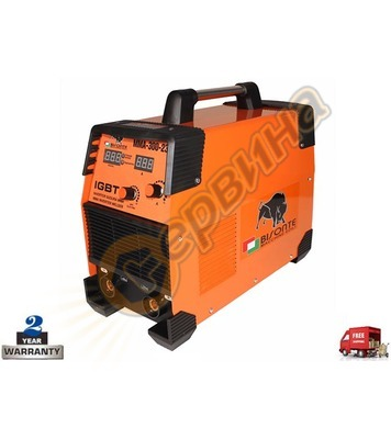 Инверторен трифазен заваръчен апарат-електрожен Bisonte MMA-