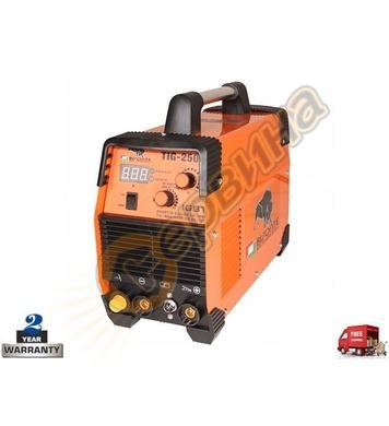 Инверторен заваръчен апарат-електрожен Bisonte TIG-250 BT100