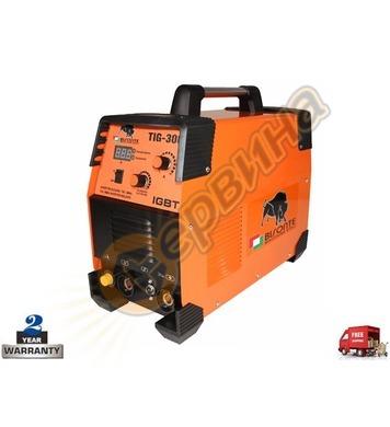 Инверторен трифазен заваръчен апарат-електрожен Bisonte TIG-