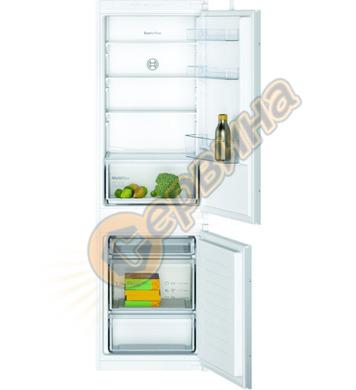 Хладилник с фризер за вграждане Bosch KIV86NSF0 LowFrost 424