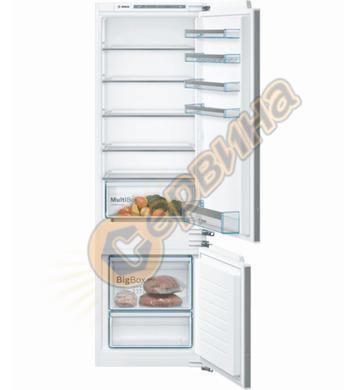 Хладилник с фризер  Bosch KIV87VFF0 Low Frost 4242005126804