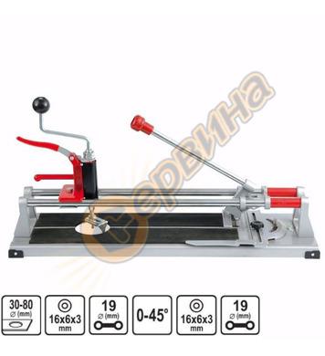 Машина за рязане на плочки ръчна Vorel 00300 - 60см