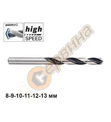 Свредло за метал Bosch HSS PointTeq 8/9/10/11/12/13мм 260857