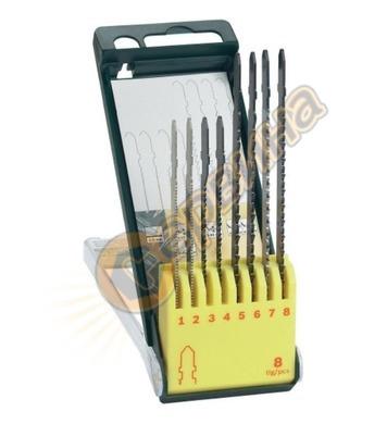Комплект нож за зеге/прободен трион Bosch 2607019458 - 8част