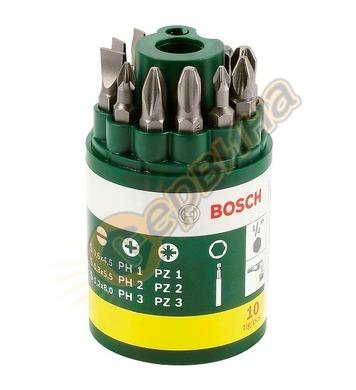 Комплект накрайници с магнитен държач Bosch 2607019454 - 10ч