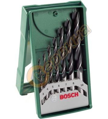 Комплект свредла за дърво Bosch Mini X-Line 2607019580 - 7ча