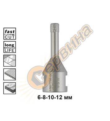 Диамантена боркорона за керамика Bosch Dry Speed 2608599039
