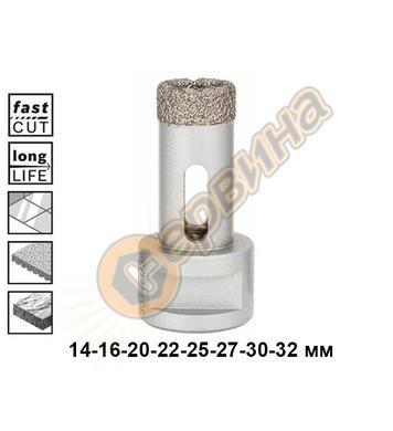 Диамантена боркорона за керамика Bosch Dry Speed 2608587113