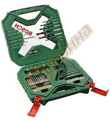 Комплект накрайници и свредла Bosch X-Line Classic 260701061