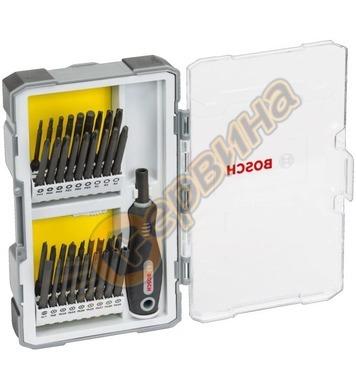 Комплект накрайници с ръкохватка Bosch 2607017320 - 37части