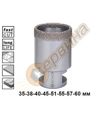 Диамантена боркорона за керамика Bosch Dry Speed 2608587121
