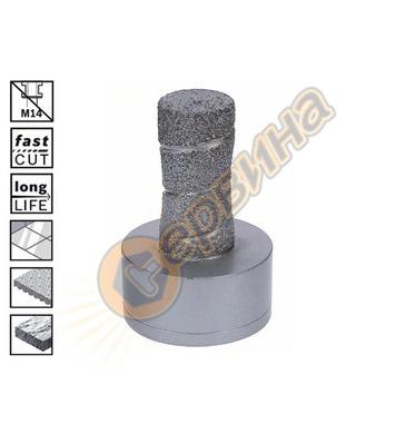Диамантен фрезер за керамика Bosch X-LOCK Dry Speed 26085990