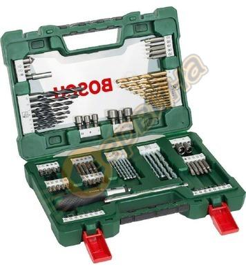 Комплект свредла и накрайници Bosch V-Line 2607017195 - 91ча