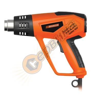 Пистолет за горещ въздух PREMIUM 2000W 34591
