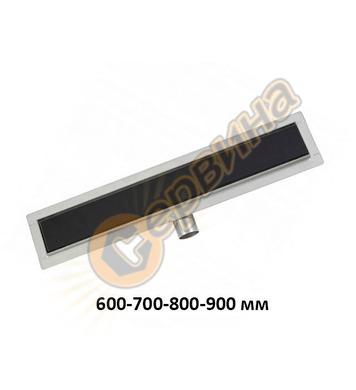 Линеен подов сифон FALA Black Glass 75386 - 600-900мм