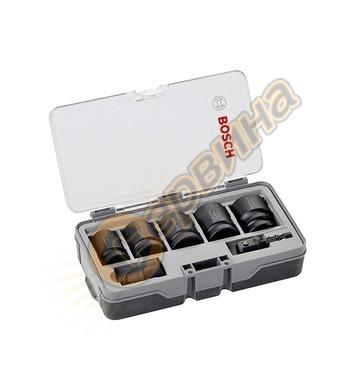 Комплект вложки и адаптери Bosch 2608551029 - 7 части