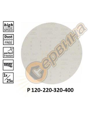 Шкурка за шлайф машини Bosch M 480 2608621188 ф225мм P400 -