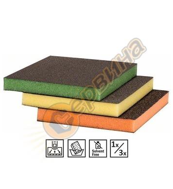 Гъба за шлайфане Bosch 2608608229 Superfine/Fine/Medium - 1б