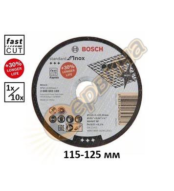 Диск за рязане на неръждаема стомана Bosch Standard for Inox