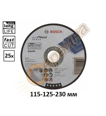 Диск за рязане на стомана Bosch Best for Metal – Rapido 2608