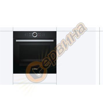 Фурна за вграждане Bosch HBG633NB1 EcoClean Direct и врата с