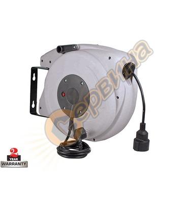 Макара с кабел удължител AS Schwabe 12645 - 20+2 метра