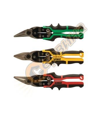 Комплект ножици за ламарина DeWalt DWHT1-46760 - 3бр.