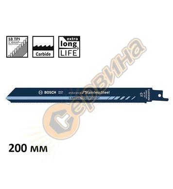 Нож за неръждаема стомана за саблен трион Bosch Endurance fo