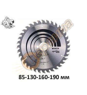 Циркулярен диск за дърво Bosch Optiline Wood 2608640582 - 85