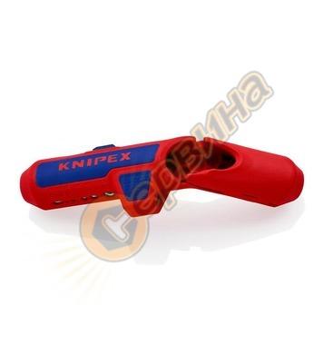Инструмент за оголване на кабели Knipex ErgoStrip K169501SB
