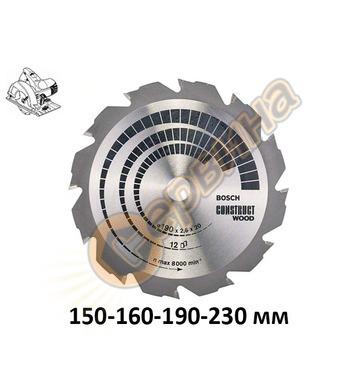 Циркулярен диск за дърво Bosch Construct Wood 2608641199 - 1