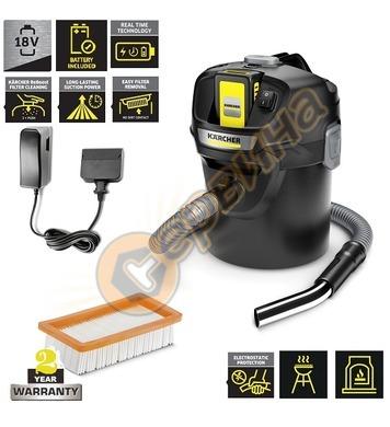Прахосмукачка за пепел и сухо Karcher AD 2 Battery Set 1.348