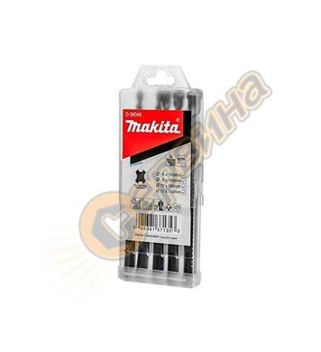 Комплект свредла за бетон SDS-Plus Makita D-36049 - 5бр.