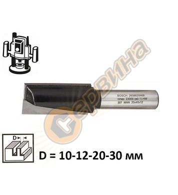 Фрезер за канали прав Bosch 2608628464 ф12мм D=10/12/20/30мм