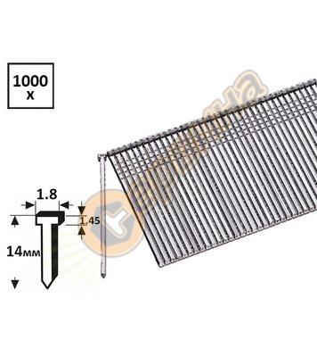 Поцинковани пирони за такер Bosch 1609200393 тип 48 1.8x1.45