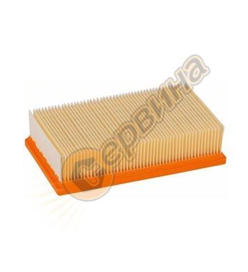 Нагънат филтър за прахосмукачка Bosch 2607432033 - за GAS 35