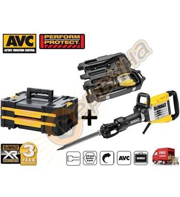 Професионален къртач DeWalt D25961K - 1600W + куфар за инстр