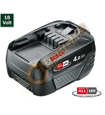 Акумулаторна батерия Bosch PBA 18V 4.0Ah W-C Li-Ion 1600A011