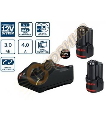 Стартов комплект Bosch 2x GBA 12V 3,0Ah + зарядно GAL 12V-40