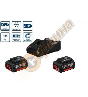 Стартов комплект Bosch 2x GBA 18V 4,0Ah + GAL 18V-40 Profess