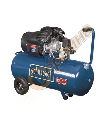 Маслен компресор Scheppach HC120DC 5906120905 - 2200W 100л/1