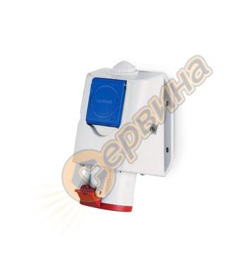 Промишлен комбиниран контакт Scame Optima-Combi 513.1657-DN