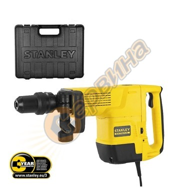 Електрически къртач Stanley SDS-max SFMEH230K 1600 W