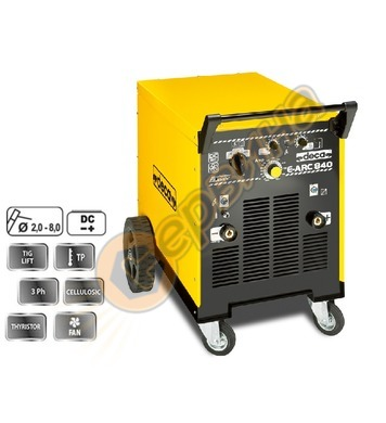 Заваръчен трифазен апарат електрожен Deca MMA DC E-ARC 840 2