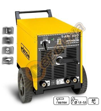 Заваръчен апарат електрожен Deca MMA AC T-ARC 530 205500 400