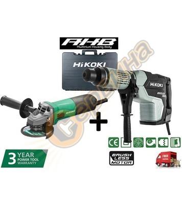 Комбиниран перфоратор HiKoki-Hitachi DH45MEY-WS - 1500W + ъг