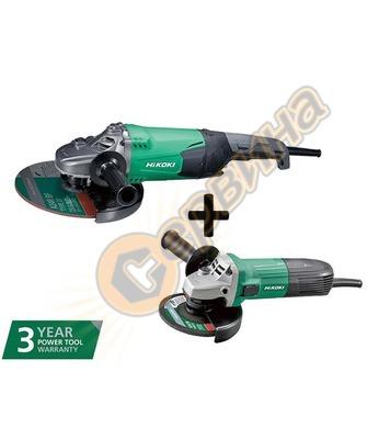 Ъглошлайф HiKoki-Hitachi G23SW2-W7Z - 2200W/230мм + ъглошлай