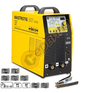 Електрожен инверторен Deca MASTROTIG 327 AC/DC 285000 - TIG