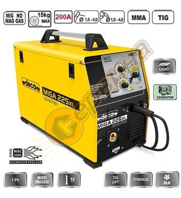 Комбиниран заваръчен апарат електрожен инверторен Deca MIG/M